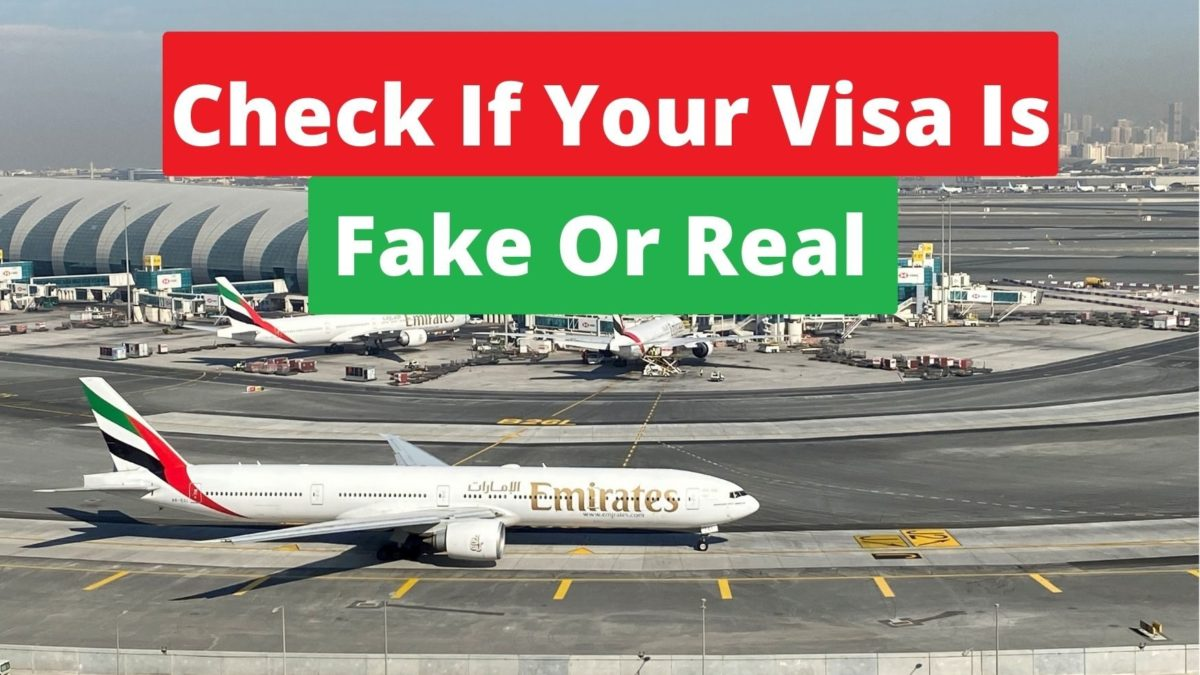 How To Check If Your Visa Is Fake Or Real.